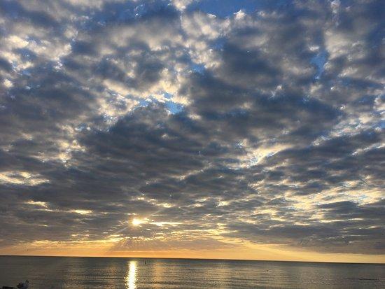Βενετία, Φλόριντα: Beautiful quiet beach. Not crowded! The sand is a taupe color, made from mostly broken shells. W