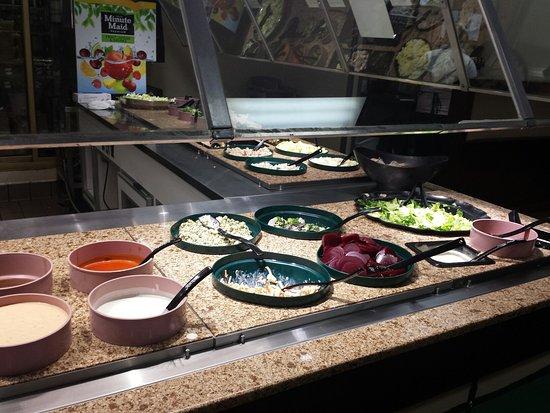 Lufkin, TX: Salad bar