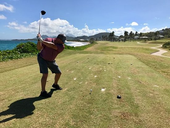South Coast, St. Kitts: Action shot!