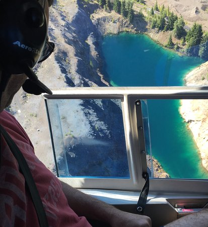 Campbell River, Canadá: Lakes atop glacier