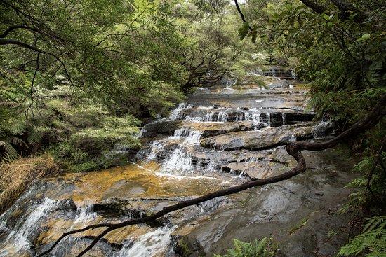 Leura, Australien: Numerous sections of cascades!