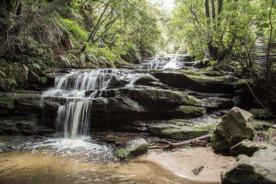 Leura, Australien: Beautiful cascades - wish I had my tripod with me!