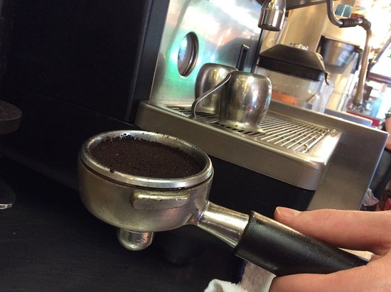 Exeter, Nueva Hampshire: Come in and get your morning coffee buzz