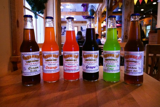 Exeter, Nueva Hampshire: New Hampshire's own Squamscott Soda
