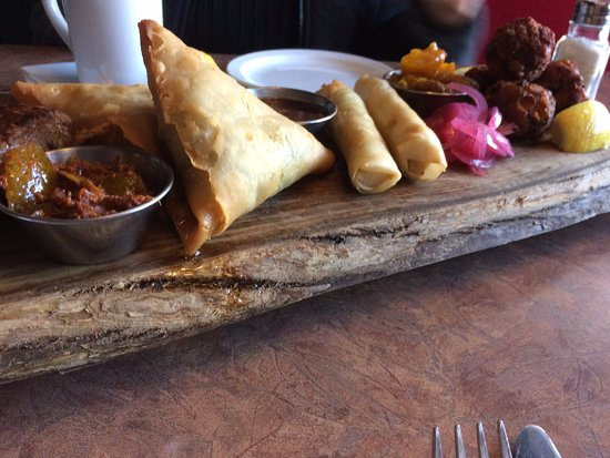 The Fat Duck Gastro Pub: Indian Plater