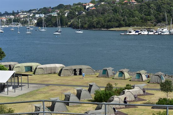 Cockatoo Island, Australien: Camp site (different size of camp avail)