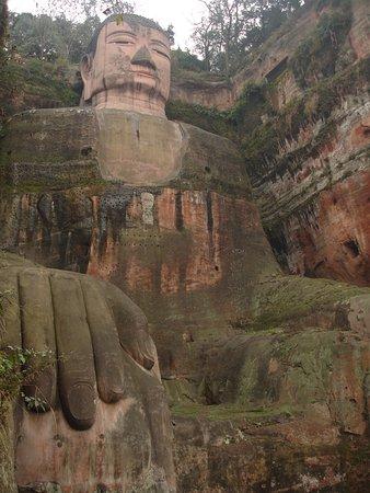 Leshan, China: 楽山大仏