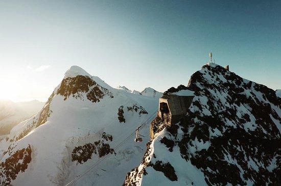 Matterhorn Glacier Paradise Entrance...