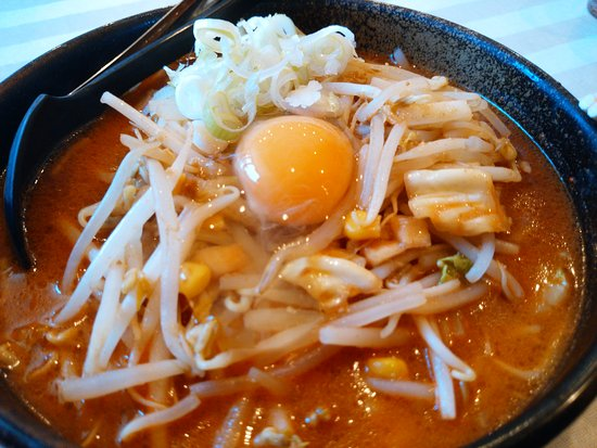 Miyako, Japan: キムチ納豆ラーメン