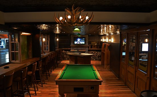 Interior With A Pool Table Seating And Television Picture Of The - Pool table seating
