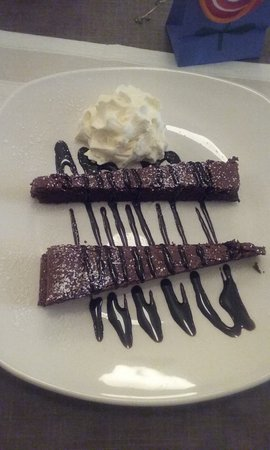 The Pantry & Corkscrew : Chocolate Brownie ( I ate two, it was so delicious)