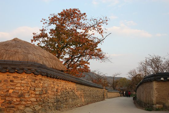 Andong, Korea Południowa: 河回村