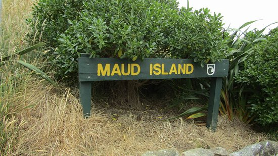 Havelock, Nueva Zelanda: Maud Island sign