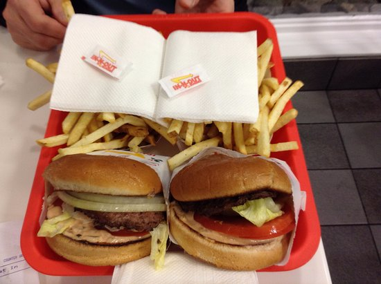 Corona, Californien: In-N-Out Burger