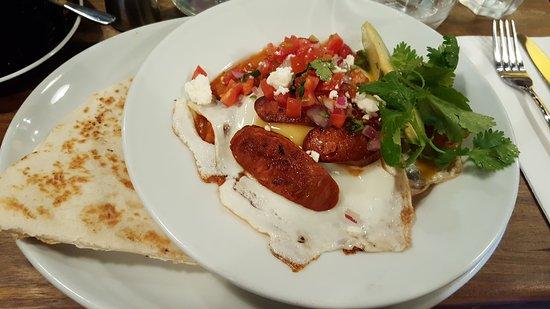 Rozelle, Australia: Heuvos Rancheros - delicious! (Jan '17)