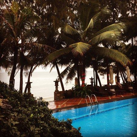 Novela Muine Resort & Spa: view from my breakfast table.