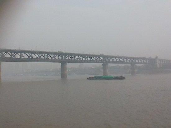 Wuhan the Second Yangtze River Bridge Foto