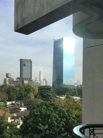 Babylon Bangkok: View from the breakfast room.