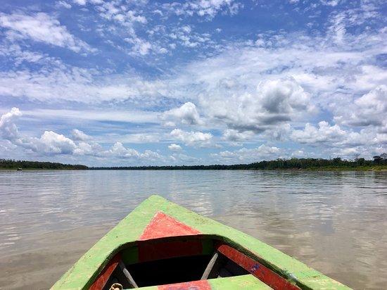 Amazonia Garden of Light : Boat down the Amazon