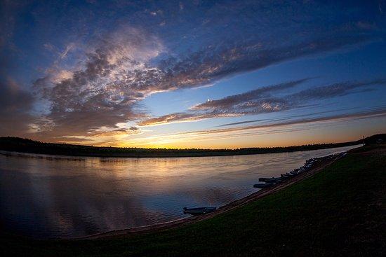 Yerbogachen, Russia: с. Ербогачён, река Нижняя Тунгуска