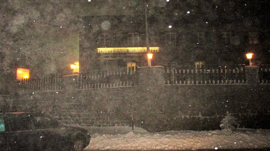 Barnau, Alemania: Silberhütte im Winter