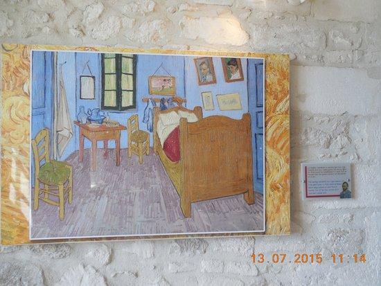 St-Rémy-de-Provence, Francia: Peinture avec la chambre de Van Gogh