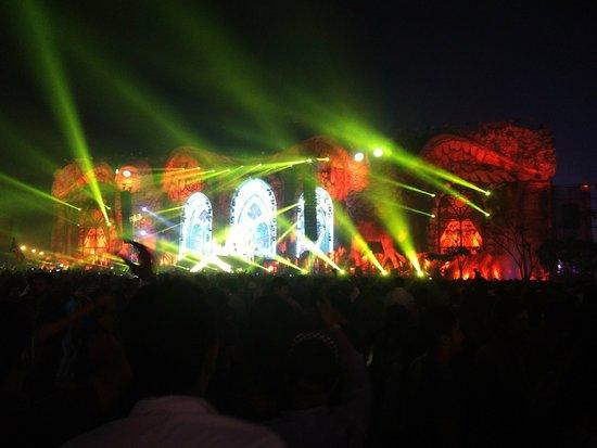 Greater Noida, India: EDC..afro jack