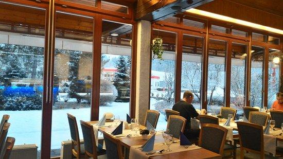 Roznov pod Radhostem, Repubblica Ceca: Restaurace hotelu