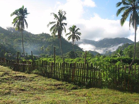 Viti Levu, Fiji: View of hills