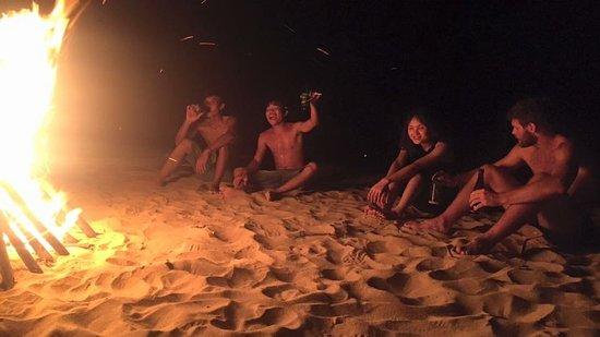 Song Cau Town, Vietnam: Beach bonfires just 12km from Quy Nhon
