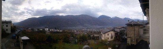Bianzone, Italia: Vista dalla camera