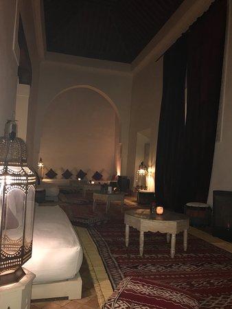 Le Riad Berbere: le salon