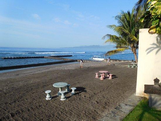 View From Poolside Suite Pool Picture Of Bayshore Villas Candi Dasa Candidasa Tripadvisor