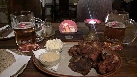 Pansky Senk: Žebírka s pivem