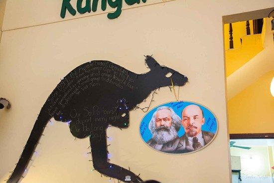 Kangaroo Cafe: родное :)