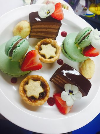 Tenbury Wells, UK: afternoon christmas tea