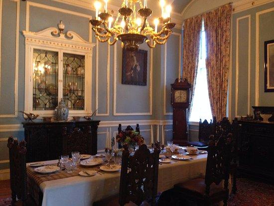 Casa Loma: the dinning room