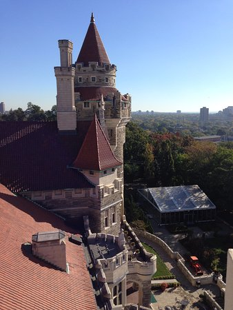 Casa Loma: view from one of the towers