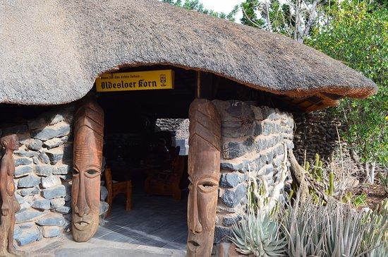 Sesriem, Namibia: Eingang zur Lobby