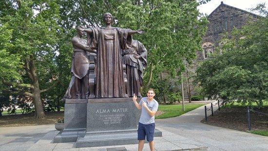 Alma Mater Statue University of Illinois at Urbana-Champaign UIUC