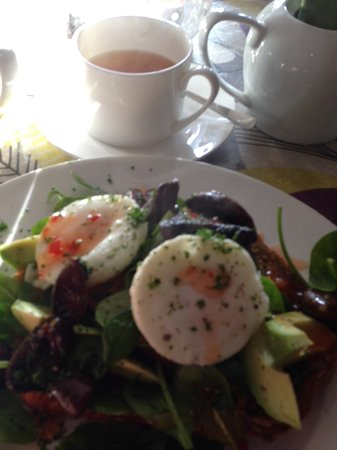 Alfriston, UK: Vegetarian breakfast