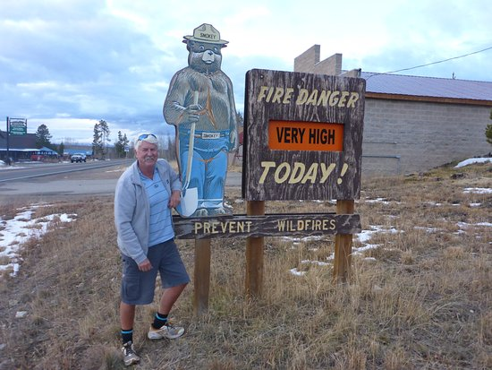 Rollinsville, CO: Me & Smokey Have a Thing !
