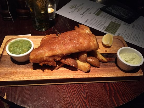 Haddington, UK: Fish'n'Chips