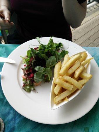 Koru Cafe: Open Steak Sandwich