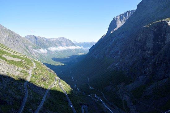 Trollstigen : la valle vista dalla piattaforma
