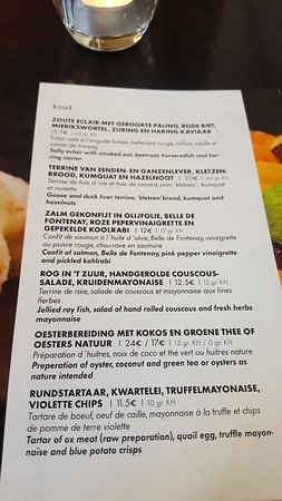 de Kleine Zavel : Lunch au Kleine Zavel