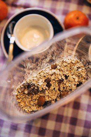 Montefiore dell'Aso, Italia: Breakfast