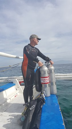 Rick from Frontier Diving - Tech dives just a few minutes out from Sabang