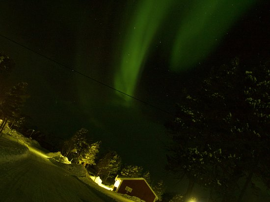Overkalix, Svezia: New Year's Eve 2016, Stora Sjofället Mountain Centre