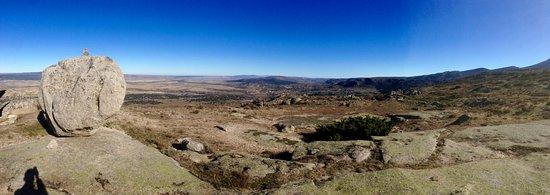 Solosancho, สเปน: Vista del santuario
